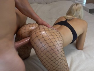 Daughter accidental anal